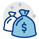 bags of money icon